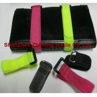 Buy cheap Different size removable hook and loop closure cable ties from wholesalers