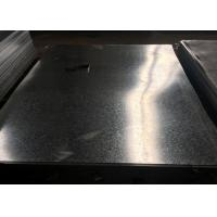 Buy cheap ISO9001 Galvanized Steel Sheet Metal , 600 - 1500mm Width Galvanised Steel Plate from wholesalers