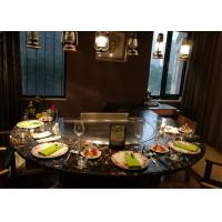 Buy cheap Teppanyaki with Built-in Air Blower and Electrostatic Fume Purifier used for Private Club from wholesalers