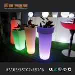 Buy cheap LED lighting planter plastic lighting vase from wholesalers