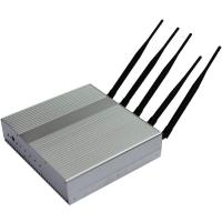 Buy cheap 5 Band Cell Phone Signal Jamming Device , GSM / GPS Frequency Jammer / Shield / Blocker from wholesalers