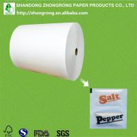 Buy cheap PE coated paper for salt pepper packet from wholesalers