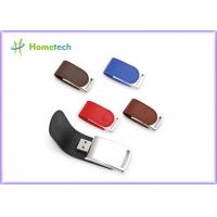 Buy cheap Bulk Promotional Leather USB Flash Disk Drive 4GB 8GB 62mm*27*12mm product