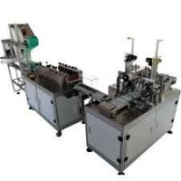 Buy cheap PLC Program Control Mask Making Machine For Disposable Flat Masks product