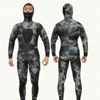 Buy cheap Wholesale 3MM CAMO Neoprene Spearfishing Diving Suit from wholesalers