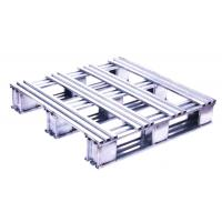Buy cheap Silvery White Recyclable Stainless Steel Pallets With High Polish Finish from wholesalers