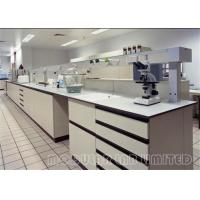 Buy cheap Painted Steel Stainless Steel Laboratory Modular Furniture Phenolic Resin Top from wholesalers