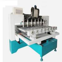 Buy cheap CA-1225 China Best 4 Axis Wood Carving Rotary Multi Spindle 3D CNC Router from wholesalers