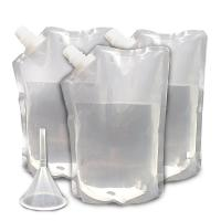 Buy cheap Transparent Durable Concealable Plastic Rum Runner Flask For Energy Drink from wholesalers
