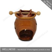 Buy cheap Classic Design Decorative Scented Oil Burners Ceramic Vase Shaped For Office from wholesalers