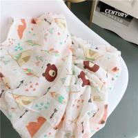 Buy cheap Infant Muslin Receiving Blankets Adorable Eco Friendly Zero Formaldehyde from wholesalers