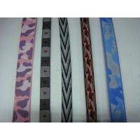 Buy cheap eco-friendly material special fabric knitted special webbing strap from wholesalers