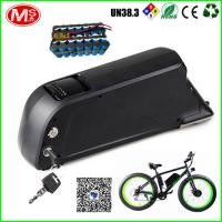 Buy cheap Lithium Electric Bicycle Battery Packs Lockable And Detachable With Long Cycle Life from wholesalers