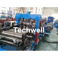 Buy cheap Galvanized Sheet CZ Purlin Cold Roll Forming Machine With Pre-Cutting Device & 1.5 Inch Chain Transmission from wholesalers