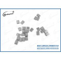 Buy cheap YG6/YG8/YG8C Sintered Tungsten Carbide Saw Tips Nickel Coated For Wood Cutting from wholesalers