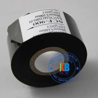 Buy cheap scf900 fc3 black date coding ribbon 25mm*100m  for expiry date batch number printing from wholesalers