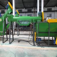 Buy cheap Small Scale PP Woven Bags Plastic Washing Recycling Machine 3 - 8T Water Consumption from wholesalers
