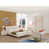 Buy cheap Smart design glossy plate bedroom furniture for young people Hostel in Modern and fashion style from european product