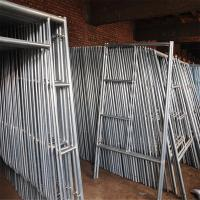 Buy cheap Mobile Platform Steel H Frame Construction Scaffolding Safety Walk Through Style from wholesalers