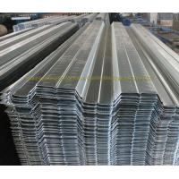 Buy cheap Prefabricated Galvanized Firm Floor Steel Decking Corrugated Steel Floor Panels from wholesalers