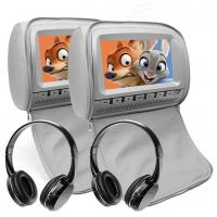Buy cheap 9 Inch Car Headrest DVD Monitor Wide Viewing Angle Car Parking Monitor from wholesalers