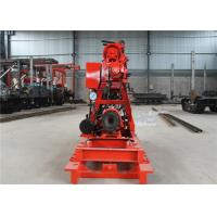 Electric Type Water Well Drilling Rig 600 M Depth Lightweight / Easy Relocation