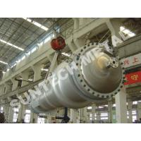 150 sqm Double Tube Shell And Tube Type Heat Exchanger 7 Tons Weight