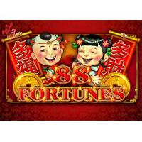 Buy cheap 88 Fortunes Jackpot Slot Video Machine Metal Cabinet With LG / Samsung Screen from wholesalers