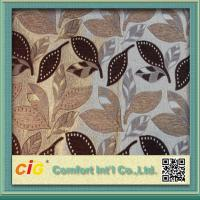 Buy cheap Jacquard Chair Upholstery Fabric Polyester Chenille Style 380 GSM product