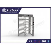 Buy cheap Full Height Gate , Turnstile Security Products 30 Persons / Min Transit Speed from wholesalers