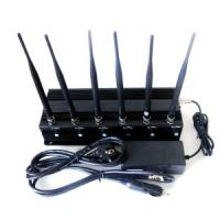 Buy cheap Signal jammer | 6 Bands VHF&UHF&Mobile&WiFi&GPS Jammer from wholesalers