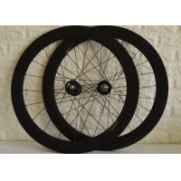 Buy cheap T700 High Strength Carbon Track Wheelset With Bladed Spokes Long Service Life from wholesalers