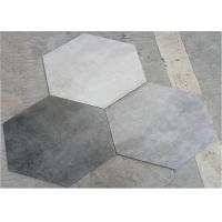 Buy cheap 520*600MM Hexagon Bathroom Wall Tiles Mix Color Anti - Fouling And Easy Cleaning from wholesalers