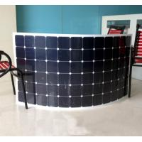 Buy cheap No1.USA Sunpower Flexible solar panel 250w high efficiency USA cell crystalline from wholesalers