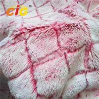 Buy cheap 100% Polyester Faux Fur Fabric Car Seat Cover Long Pile Faux Fur Fabric from wholesalers