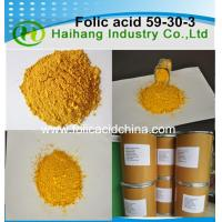 Buy cheap Folic acid fine powder USP36/BP2015 standard use for health care products from wholesalers
