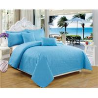 Buy cheap Supersonic Quilts 5pcs Set Microfiber Fabric Super Soft Embossed Quilt from wholesalers