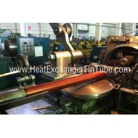 Quality Helicoidal Groove Cooling Embedded Fin Tube Machine , G Type Alu & Copper for sale