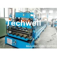 Buy cheap Galvanized Coil Tile Roll Forming Machine For Metal Roof Tile , Steel Roofing Sheet from wholesalers