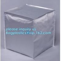 Buy cheap aseptic liners and IBC containers, Foil Gaylord Liners, Foil Heat Induction Seal Liners for PE & PP Containers, bagease from wholesalers