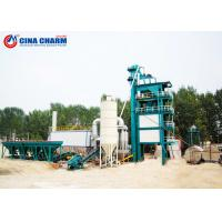 Buy cheap 220V / 380V Batch Type Asphalt Plant , 100 - 150t Mobile Asphalt Batch Mix Plant from wholesalers
