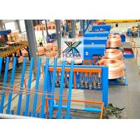 Buy cheap Metal Melting Furnace Upward Continuous Casting Machine For Oxygen-free Copper Material from wholesalers