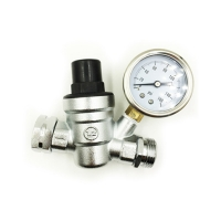 Buy cheap brass water gas oil pressure regulator of bottom price from wholesalers