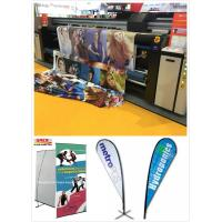Buy cheap large format digital inkjet sublimation dye textile printer for flag printing machine from wholesalers