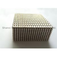 Buy cheap 2 * 5 MM Nickel Coating Custom Neodymium Magnets Grade N35 Pen Usage from wholesalers