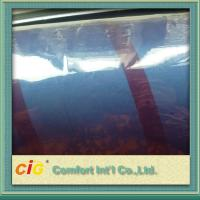 Buy cheap Packaging PVC Transparent Film , Blue Chenille Style PVC Clear Sheet product