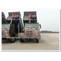 Buy cheap 70 Tons Sinotruk HOWO 420hp  Mining Dump Truck with high strength steel  cargo body from wholesalers