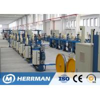 Buy cheap 15-50mm Binding Pitch Fiber Optic Cable Production Line SZ Strander Fatigue Resistant from wholesalers