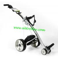 Buy cheap Carbon golf trolley runs for 36 holes Golf Bag Cart of quite motors golf pull cart from wholesalers