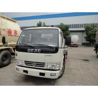 Buy cheap Dongfeng 4*2 7.7CBM fresh milk tanker truck/liquid tanker truck for sale, factory sale 8m3 stainless steel milk tank from wholesalers